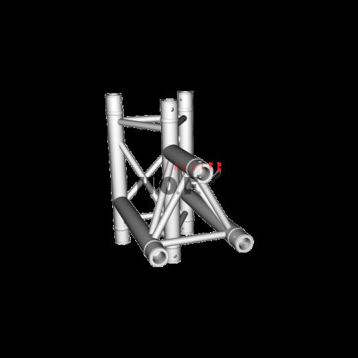HOFKON 290-3 3-way corner C38 T-piece apex down/in-32