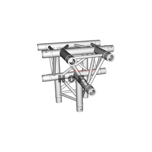 HOFKON 290-3 4-way corner C42 T-piece apex down-32