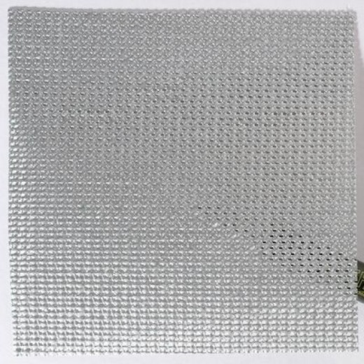 Mesh PVC Light Silver-31