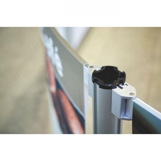 NexTrac skillevægge til standere hærdet glas-310