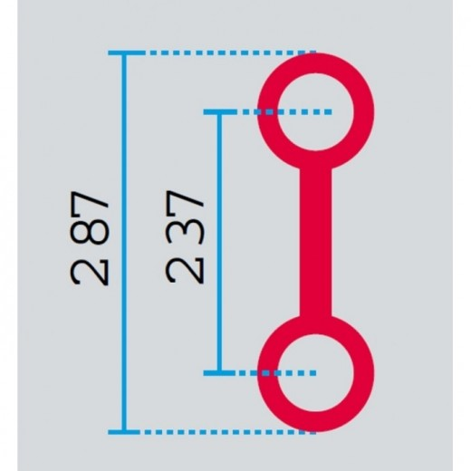 HOFKON 2.Punkt truss 2,50 m 290-2-33