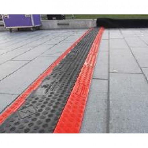 Sunstill Kabelbakke 3 kanal Red Line-36