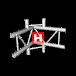 HOFKON 290-2 4-way corncer C44V 90°-20