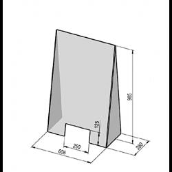 Akryl skærm til afskærmning-20